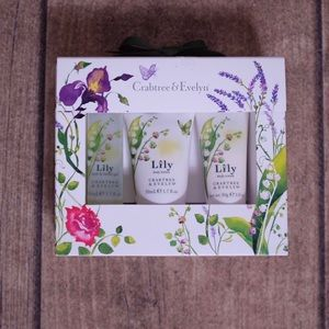 New Crabtree & Evelyn 3 Piece Lotion & Gel Set
